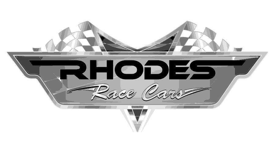 Rhodes Race Cars Logo Vector