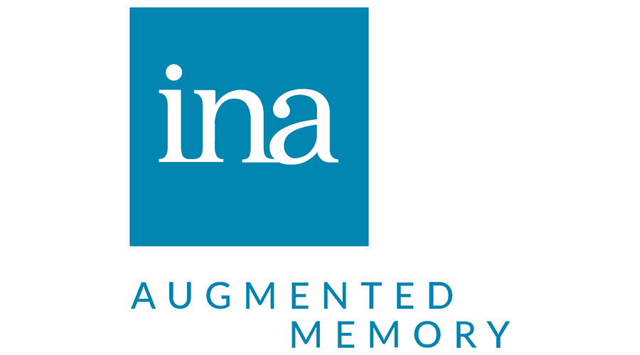 INA – National Audiovisual Institute Logo Vector