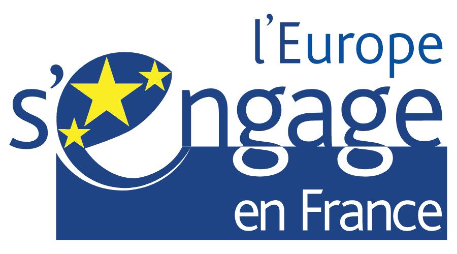 L'Europe s'engage en France Logo Vector