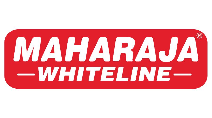 Maharaja Whiteline Logo Vector