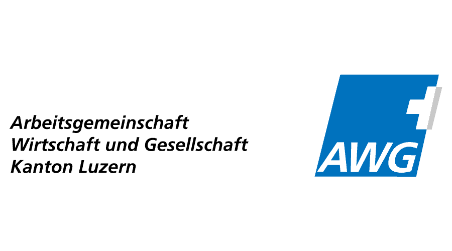 Arbeitsgemeinschaft Wirtschaft und Gesellschaft (AWG) Kanton Luzern Logo Vector