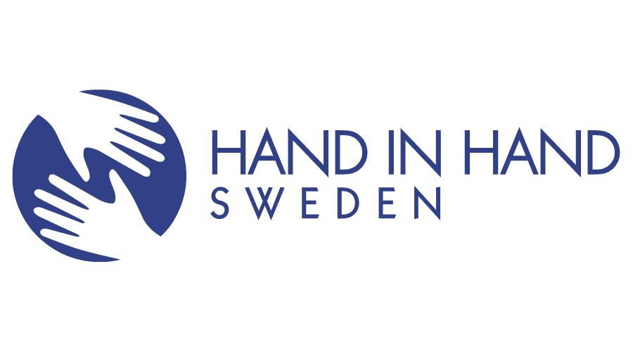 Hand in Hand Sweden Logo Vector