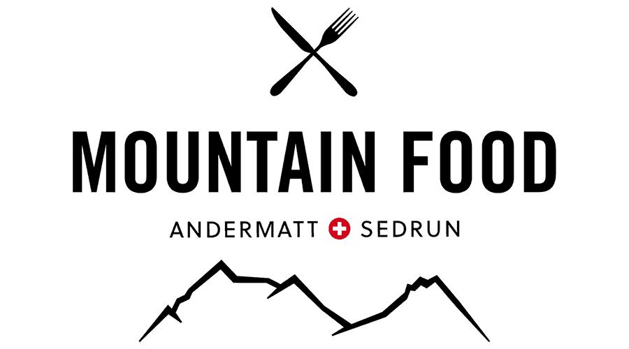 Mountain Food Andermatt-Sedrun Logo Vector