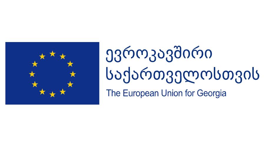 The European Union of Georgia Logo Vector