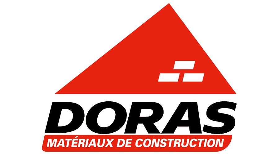 DORAS – Matériaux de Construction Logo Vector