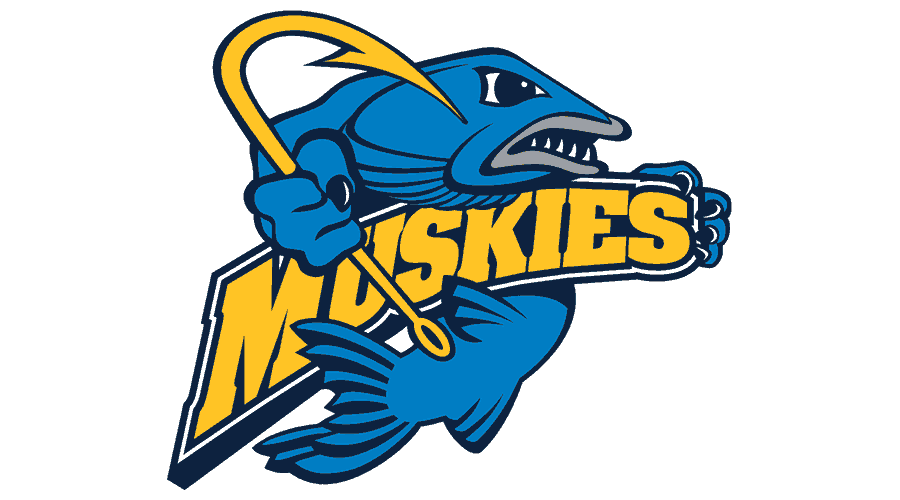 Lakeland University Muskies Logo Vector