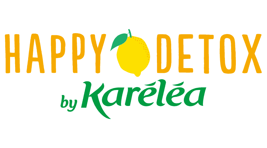 Happy Détox by Karéléa Logo Vector