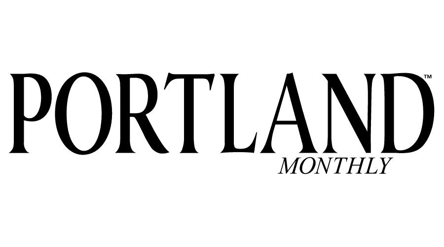 Portland Monthly Magazine Logo Vector