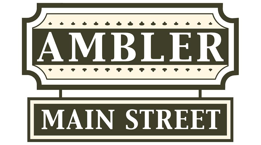 Ambler Main Street Logo Vector