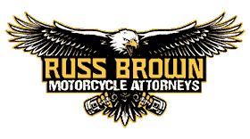 Russ Brown Motorcycle Attorneys Logo Vector's thumbnail