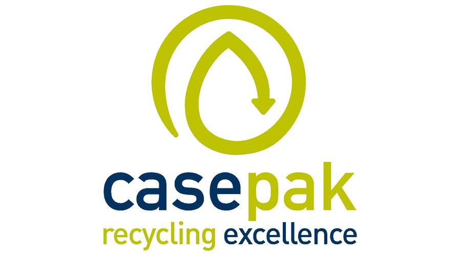 Casepak Recycling Logo Vector