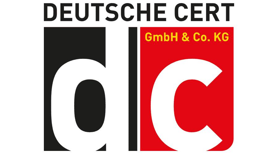 Deutsche Cert GmbH und Co. KG Logo Vector