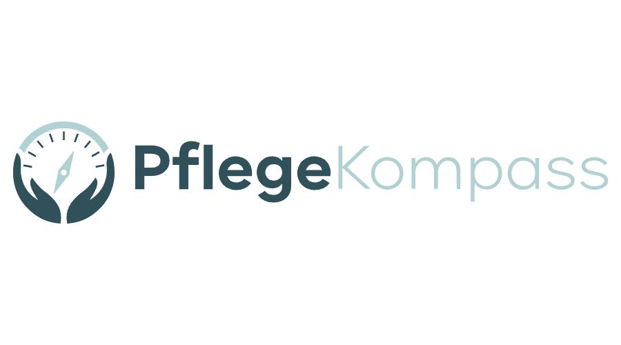 Pflege Kompass Logo Vector