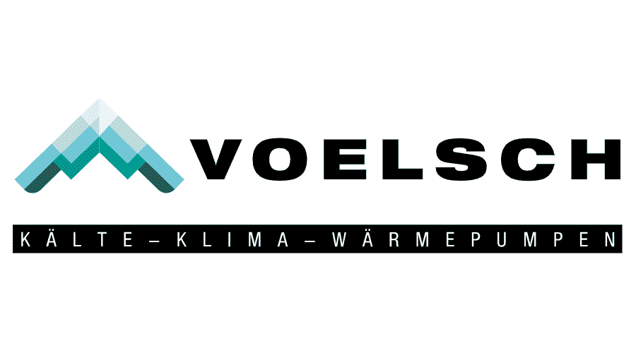 Voelsch Kälte-Klima-Wärmepumpen Logo Vector